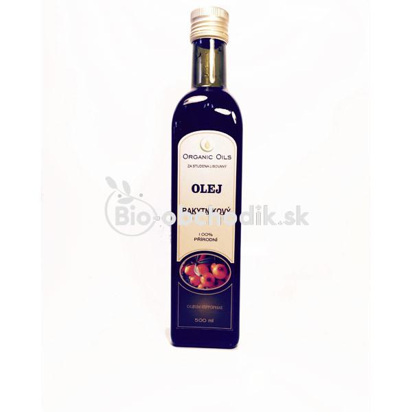 """Organic Oils"""" 100% Rakytníkový olej 500 ± 3% ml a05a6ea92f2"""