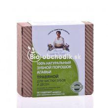 Agáta - organický zubný prášok bylinkový 120g