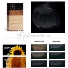 Prírodná farba na vlasy 1.0 ČIERNA APIVITA