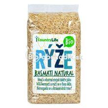 Basmati ryža natural Bio 500g Country life