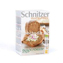 Bezlepkový tmavý chlieb bio 500g Schnitzer