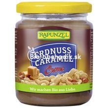 Bio arašídovo karamelová pomazánka Rapunzel 250g