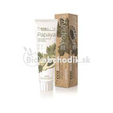 Bio bieliaca zubná pasta s papájou Ecodenta 100ml