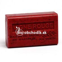 Bio Mydlo Bambucké maslo - Červené víno 125g