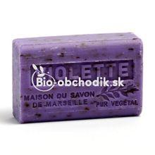 Bio Mydlo Bambucké maslo - Fialka 125g