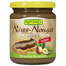 Bio nugátová nátierka pre vegánov Rapunzel 250g