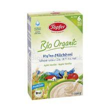 Detská BIO mliečna kaša jablko vanilka töpfer 200g
