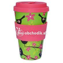 Ecoffee cup Widdelebirdy 400ml