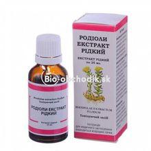 Extrakt Rhodioly kvapky 25ml