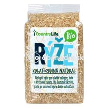 Guľatozrnná ryža natural Bio 500g Country life