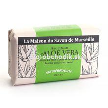 MARSEILLE Mydlo NATURIDERM - Aloe Vera 125g