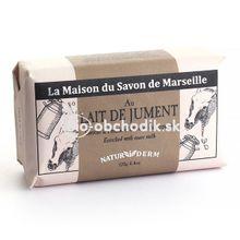 MARSEILLE Mydlo NATURIDERM – Kobylie mlieko 125g