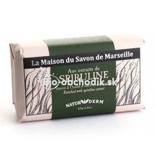 MARSEILLE Mydlo NATURIDERM - Spirulina 125g