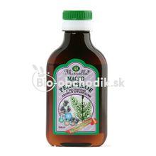 Lopúchový olej s prasličkou a keramidmi 100ml Mirolla