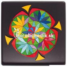 """Magnetické puzzle """"Kvet"""" Grimm´s"""