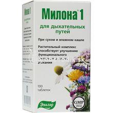 Milona 1 Ľahký dych EVALAR 100tbl.