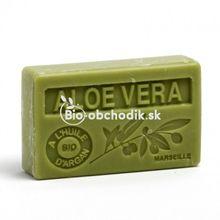 Mydlo s BIO arganovým olejom - Aloe vera 100g