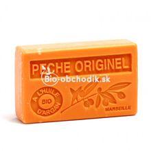 Mydlo s BIO arganovým olejom - Broskyňa 100g