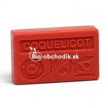 Mydlo s BIO arganovým olejom - Divý mak 100g