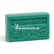 Mydlo BIO arganový olej - Drvená Verbena 100g