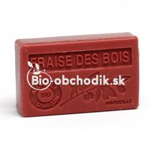 Mydlo s BIO arganovým olejom - Lesné jahody 100g