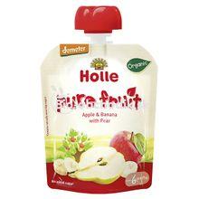 Ovocné pyré Jablko hruška Holle 90g
