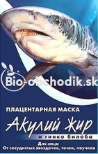 Placentárna maska - žraločí tuk a ginkgo biloba 10ml