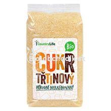 Prírodný trstinový cukor nerafinovaný bio 500g Country life