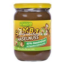 SAMBA HASELnuss čoko-lieskovcová bio nátierka 250g Rapunzel