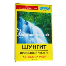 Šungitová drť - čistič vody 150g