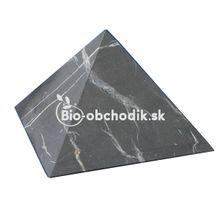Šungitová pyramída 5x5 cm