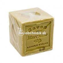 Tradičná prírodná mydlová kocka - olivový olej 600g
