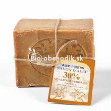 Tradičné mydlo z Aleppa s vavrínovým olejom 30% 200g