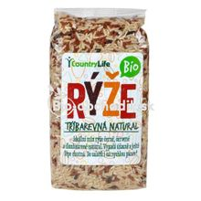 Trojfarebná ryža Bio 500g Country life