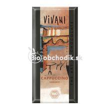 BIO Cappuccino čokoláda vivani 100g