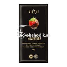 Čokoláda na varenie horká Vivani 200g