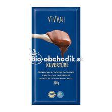Čokoláda na varenie mliečna Vivani 200g