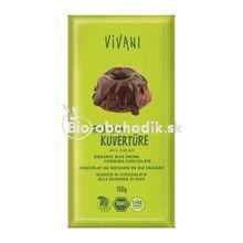 Čokoláda na varenie ryžová Vivani 150g