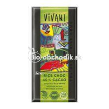 BIO Ryžová čokoláda Vivani 100g