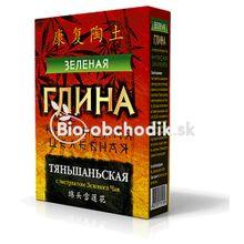 """Zelený íl """"Tien Shan liečebný"""" zelený čaj 100g"""