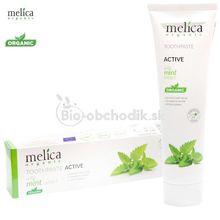 Zubná pasta ACTIVE (s extraktom mäty) 100ml MELICA