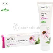Zubná pasta na citlivé zuby 100ml Melica