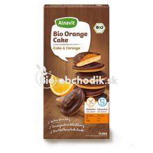 Bezlepkové pomarančovo-čokoládové Bio koláčiky 100g/16ks