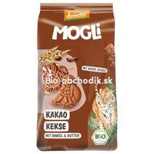 Bio špaldové sušienky s kakaom pre deti 125g Mogli