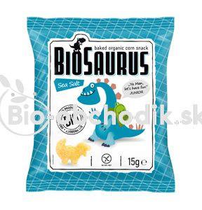 Biosaurus morská soľ Junior bezgluténové BIO 15g
