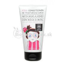 Detský vlasový kondicionér Ruža & Med Apivita 150ml