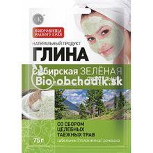 """FITOCOSMETIC Sibírsky zelený íl """"Výživný"""" 75g"""