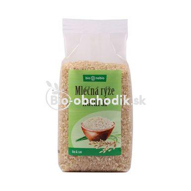 Guľatozrnná ryža natural Bio 500g BioNebio