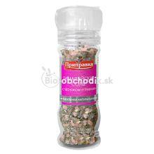 Himalájska soľ - cesnak a bylinky s mlynčekom 80g (-5%)