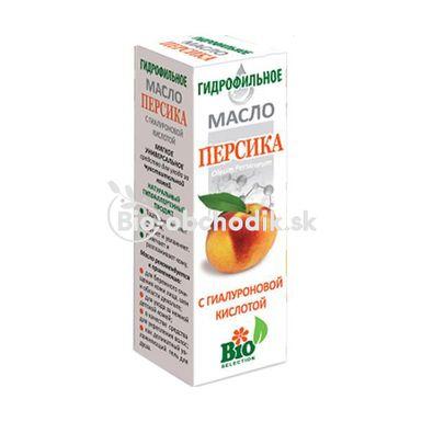 Hydrofilný BROSKYŇOVÝ OLEJ s Kyselinou Hyalurónovou a Rumančekom